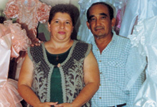 Rosario Enriquez and Edgar Hidalgo